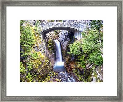 Christine Falls Framed Print by Kyle Wasielewski