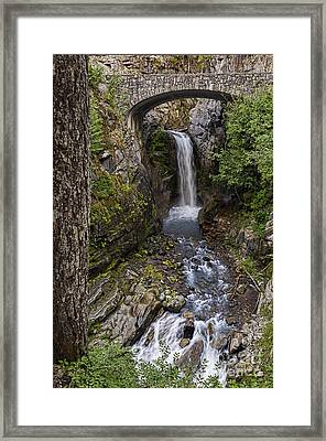 Christine Falls Framed Print by Sharon Seaward
