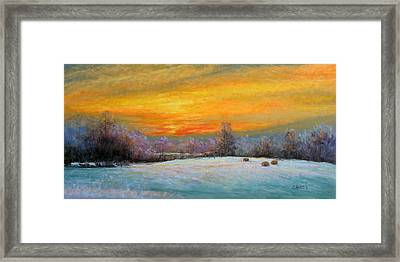 Christine's World Framed Print by Christine Bass