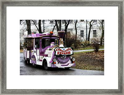 Christkindl Express Framed Print by John Rizzuto