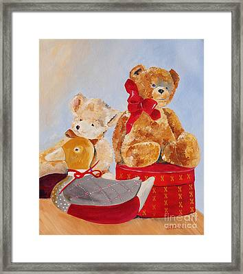 Christmas Greeting Framed Print