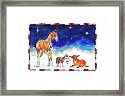 Christmas 4 Framed Print
