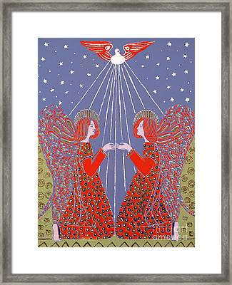 Christmas 77 Framed Print by Gillian Lawson