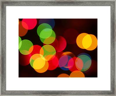 Unfocused Framed Print