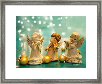 Christmas Angels 3 Framed Print