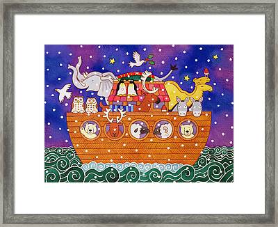 Christmas Ark Framed Print by Cathy Baxter