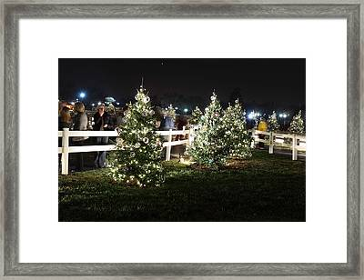 Christmas At The Ellipse - Washington Dc - 01133 Framed Print by DC Photographer