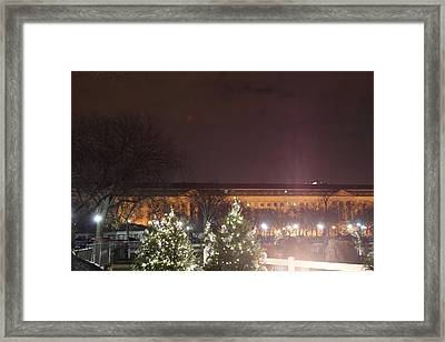Christmas At The Ellipse - Washington Dc - 01134 Framed Print