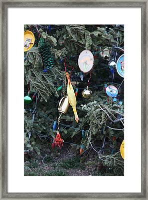 Christmas At U.s. Capitol - Washington Dc - 01132 Framed Print