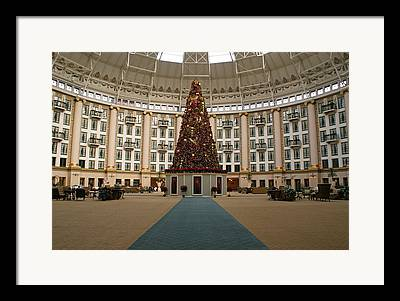 Christmas At West Baden Framed Prints