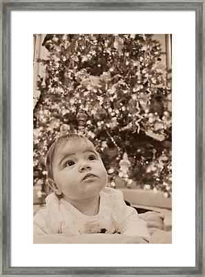 Christmas Baby Framed Print