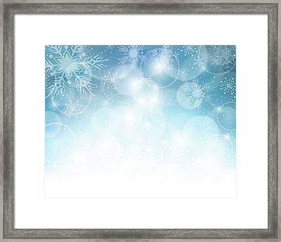 Christmas Background Framed Print by Adyna
