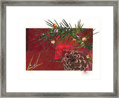 Christmas Branches Framed Print