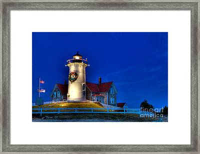 Christmas By The Sea Framed Print by Michael Petrizzo