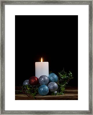 Christmas Candle2 Framed Print