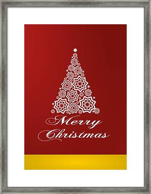Christmas Card 10 Framed Print by Martin Capek