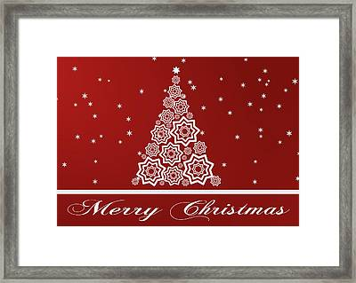Christmas Card 12 Framed Print by Martin Capek