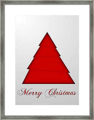 Christmas Card 15 Framed Print by Martin Capek