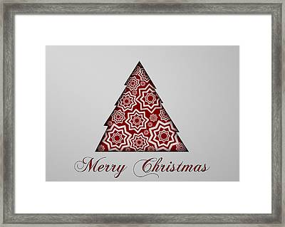 Christmas Card 16 Framed Print by Martin Capek