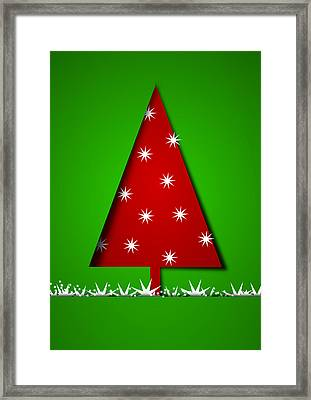 Christmas Card 18 Framed Print by Martin Capek