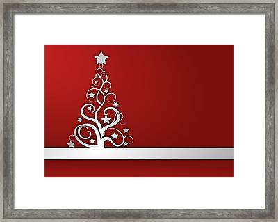 Christmas Card 22 Framed Print by Martin Capek