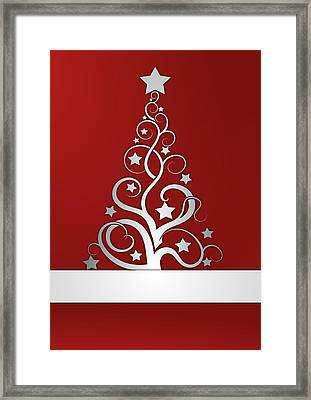 Christmas Card 23 Framed Print by Martin Capek