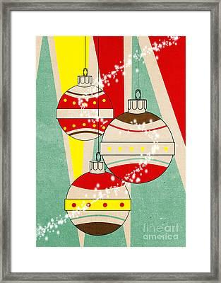 Christmas Card 6 Framed Print by Mark Ashkenazi