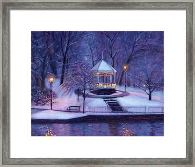 Christmas Card Framed Print by Bonnie Mason