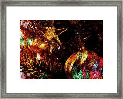Christmas Card Design #1 Framed Print