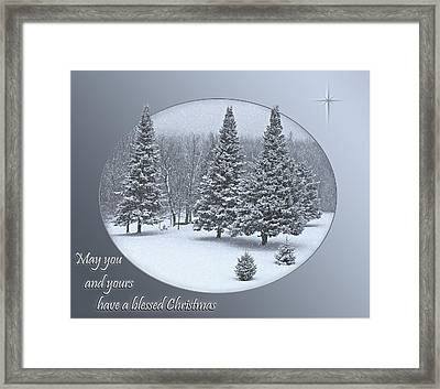 Christmas Card IIi Framed Print
