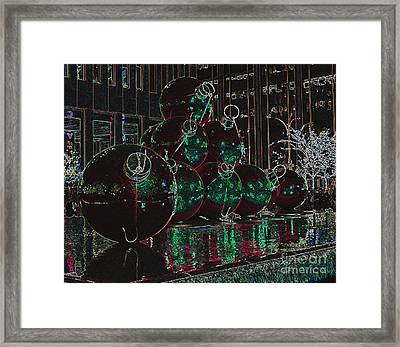 Framed Print featuring the photograph Christmas Card by Laurinda Bowling