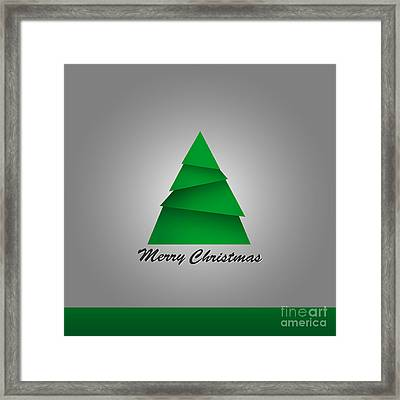 Christmas Card  Framed Print