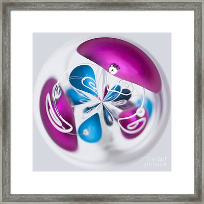 Christmas Chaos Framed Print by Anne Gilbert