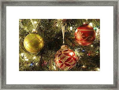 Christmas Cheer Framed Print by Luke Moore