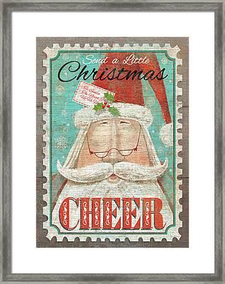 Christmas Cheer Framed Print by P.s. Art Studios