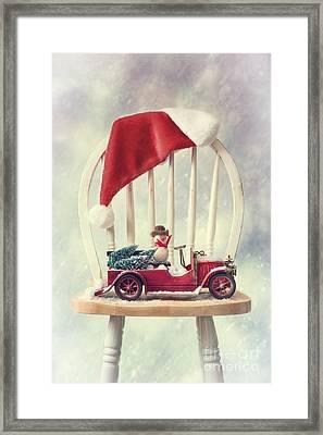 Christmas  Framed Print by Amanda Elwell