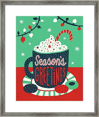 Christmas Cocoa Framed Print by Michael Mullan