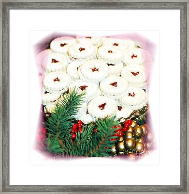 Christmas Cookies Framed Print by Kathleen Struckle