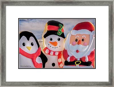Christmas Cookies  Framed Print