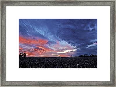Framed Print featuring the photograph Christmas Dawn 2 by John Harding