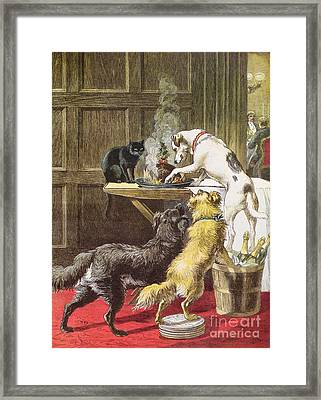 Christmas Day The Uninvited Framed Print