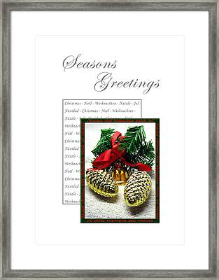 Christmas Decoration 2 Framed Print
