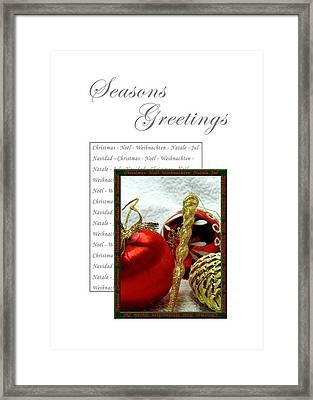 Christmas Decoration 3 Framed Print