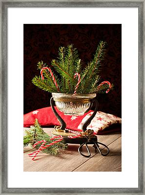 Christmas Decoration Framed Print by Amanda Elwell
