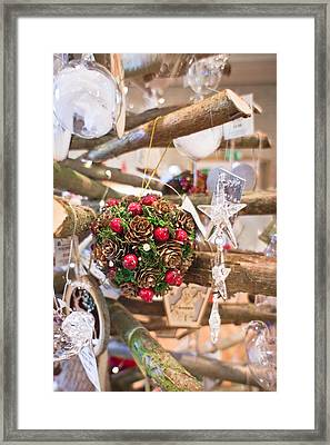 Christmas Decoration Framed Print by Tom Gowanlock