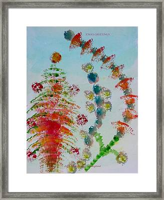 Christmas Decorations  Framed Print
