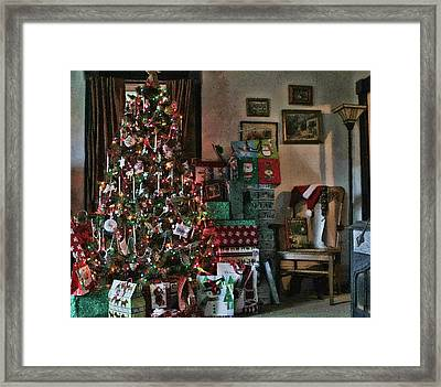 Framed Print featuring the photograph Christmas by Denise Romano