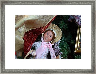 Christmas Display - Mt Vernon - 01133 Framed Print by DC Photographer