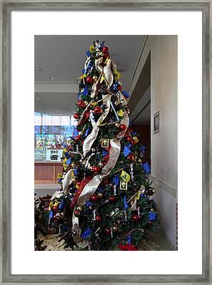 Christmas Display - Mt Vernon - 01134 Framed Print