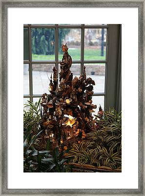 Christmas Display - Us Botanic Garden - 011332 Framed Print